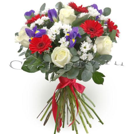 Букет Фонтан желаний, купить цветы Тольятти, доставка цветов в Тольятти, Cvet-pro