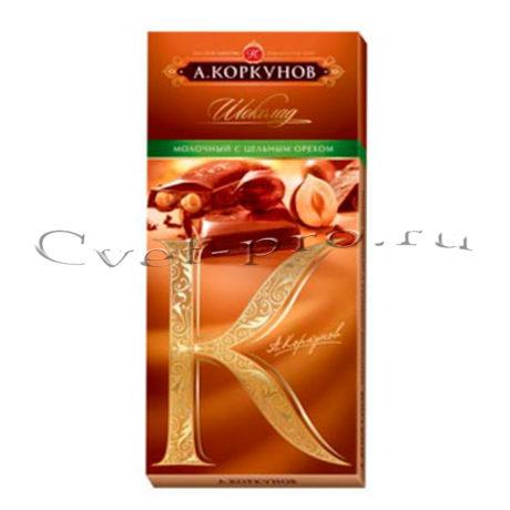 Шоколад А. Коркунов, купить цветы Тольятти, доставка цветов в Тольятти, Cvet-pro