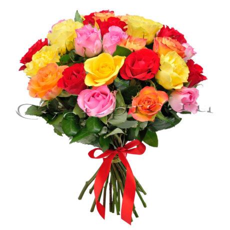 Розы микс, купить цветы Тольятти, доставка цветов в Тольятти, роза микс, Cvet-pro