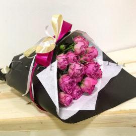 Букет Восхищение, купить цветы Тольятти, доставка цветов в Тольятти, пионовидная роза, Cvet-pro