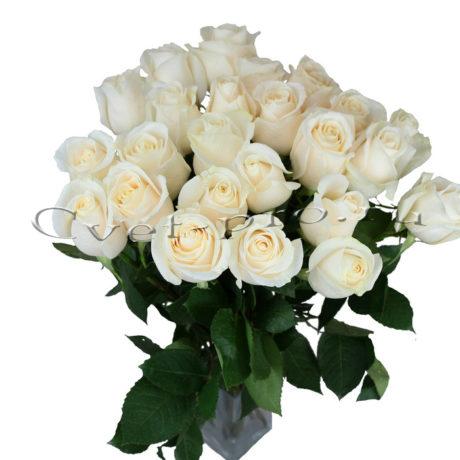 Букет Вендетта, купить цветы Тольятти, доставка цветов в Тольятти, букеты белых роз, Cvet-pro