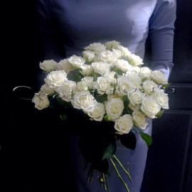 Букет из кустовых роз, купить цветы Тольятти, доставка цветов в Тольятти, Cvet-pro