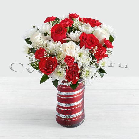 Букет Ламбада, цветы Тольятти, доставка цветов Тольятти, Cvet-pro