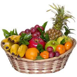Корзина фруктов Южный ветер, купить цветы Тольятти