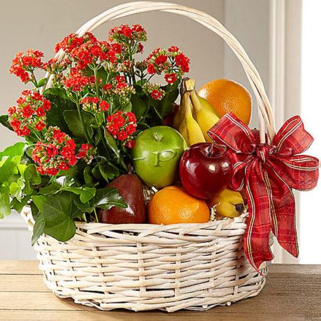Корзина фруктов Райский сад, купить цветы Тольятти, доставка цветов Тольятти