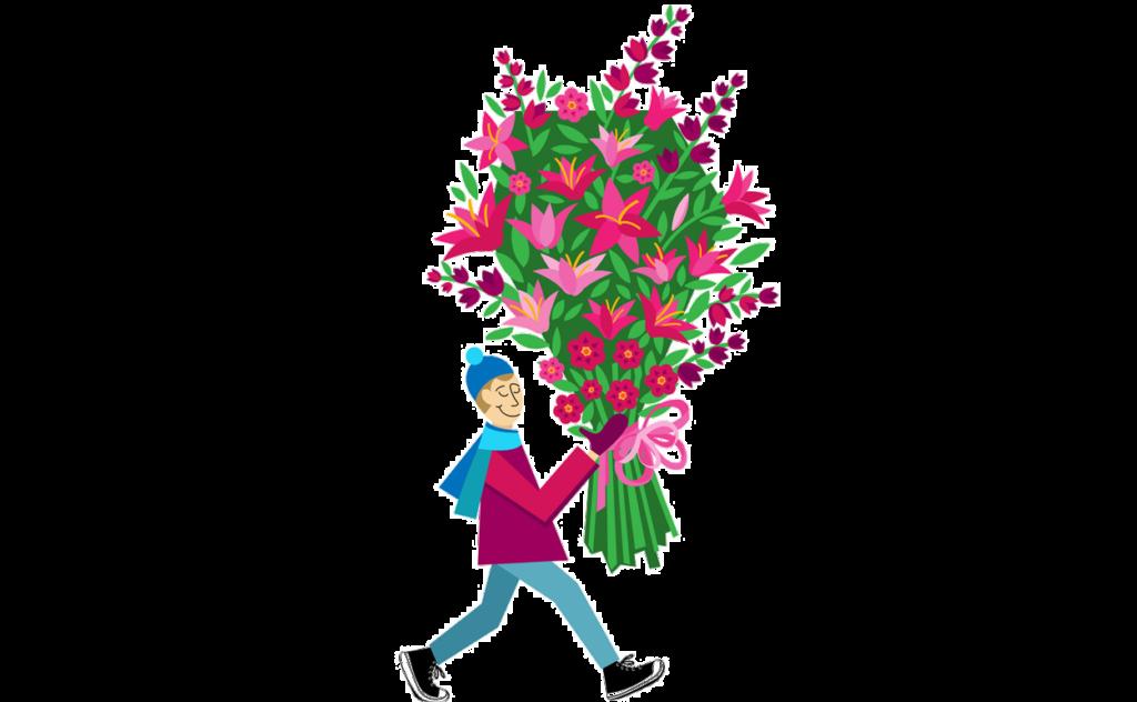 цветы в Тольятти, купить цветы в Тольятти, большой букет VIP