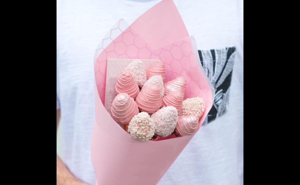 клубника, клубника купить, клубника Тольятти, детские букеты из цветов