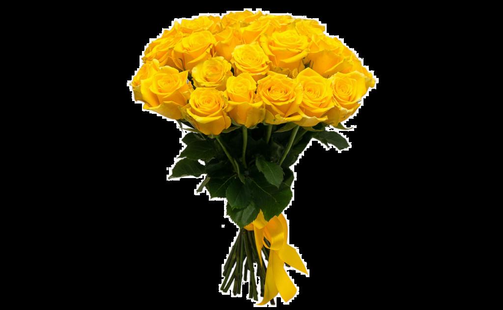 цветы стиль, желтый