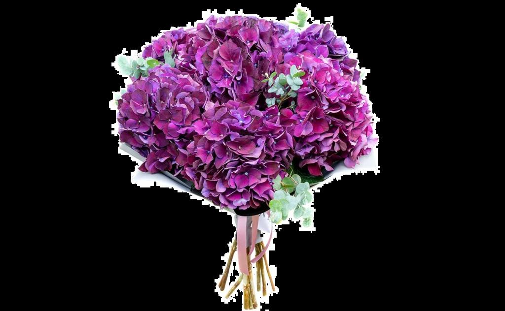 цветы стиль, фиолетовый