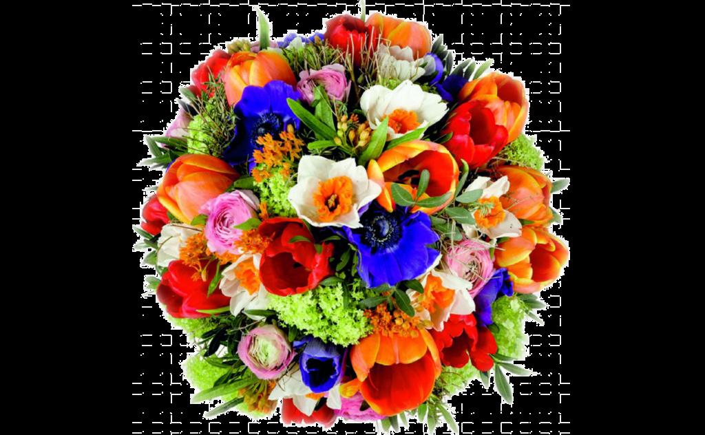 цветы стиль, яркий